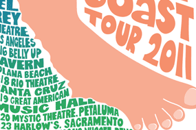 Todd Snider Left Coast Tour 2011