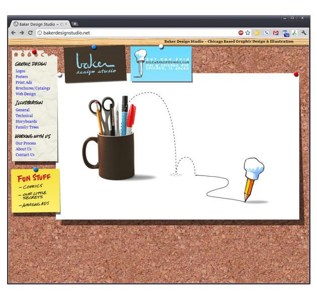 Baker Design Studio Brand