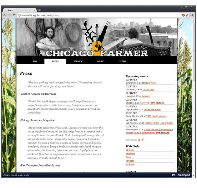 Chicago Farmer official website