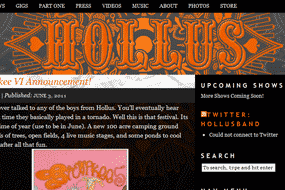 Hollus Website