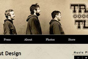 Trampled By Turtles Website