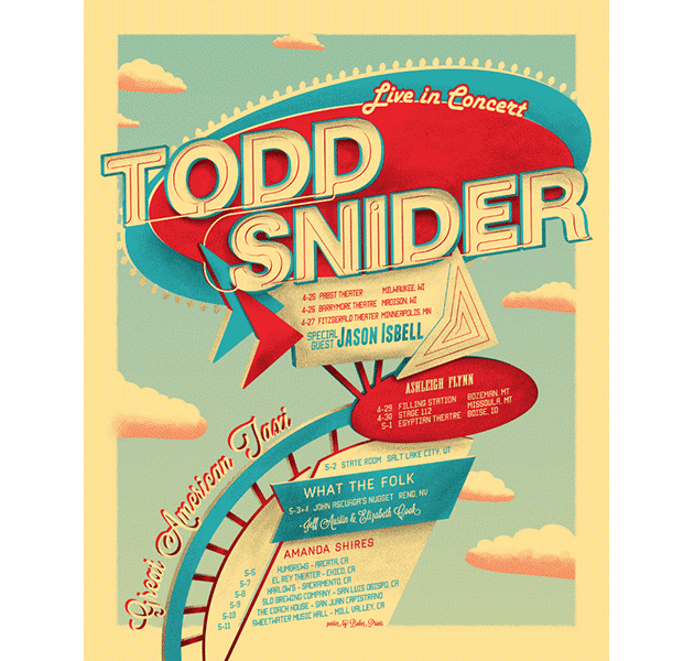 Todd-Snider-Motel-Sign-2013-Tour-poster-Baker-Prints