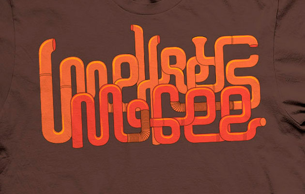 Umphrey's McGee 2013 early tour tee front