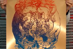 'This Life Flies' Dead Print