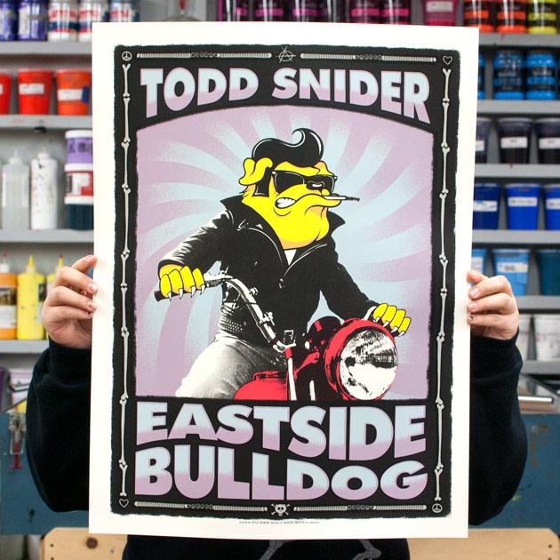 Todd Snider Eastside Bulldog Poster